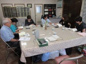 今日11日は久しぶりにキリスト教を学ぶ会も開かれました