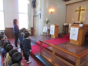 礼拝では、東日本大震災を覚えて、ジュース献金を行い続けています。