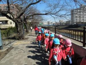 さあ!金井公園を目指して歩こう!
