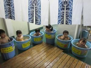 名物、ルーテル温泉です。六色の温泉があります。いーい、ゆだなー
