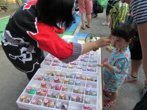 ビンゴゲームも加わり、大人気でした。
