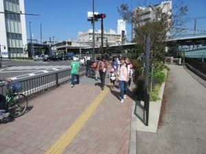 帰りは少々疲れました。ようやく戸塚駅です。