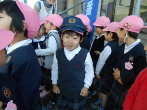 将来の警察官です。