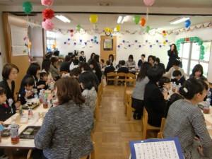 美味しい昼食を皆で共にいただきました。