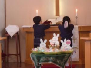 熊本・大分の地震で困っている人たち、悲しんでいる人たちのために、イースター献金を捧げました。