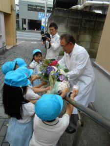 久保井先生、大喜びでした!