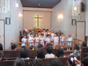 さくらさんが、お祝いの歌を歌いました。