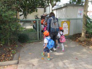 ふー、ようやく幼稚園に戻って来ました。みんな疲れたね。