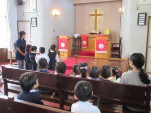 礼拝の中で、いつものように、東日本大震災被災者のための献金を捧げました。